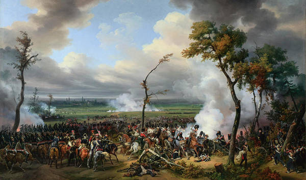 Wounded Soldier Painting - The Battle Of Hanau by Emile-Jean-Horace Vernet