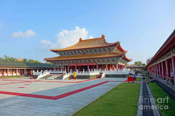 The Confucius Temple In Kaohsiung, Taiwan Art Print