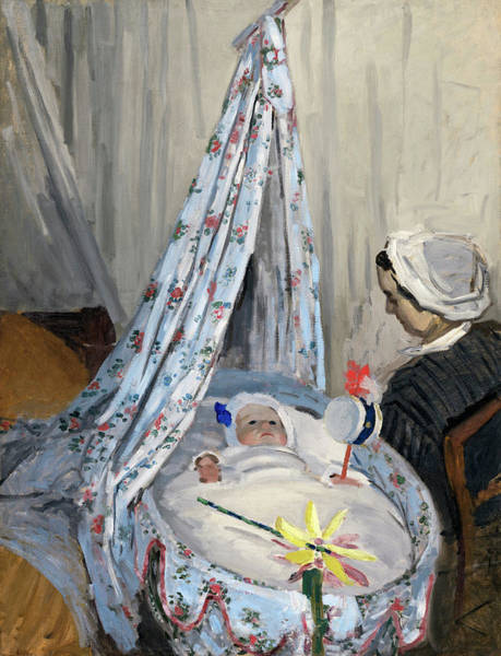 Painting - The Cradle  by Claude Monet