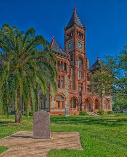 Courthouse Towers Wall Art - Photograph - The Dewitt County Courthouse by Mountain Dreams