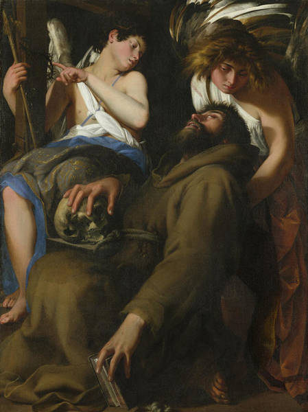 Wall Art - Painting - The Ecstasy Of Saint Francis by Giovanni Baglione