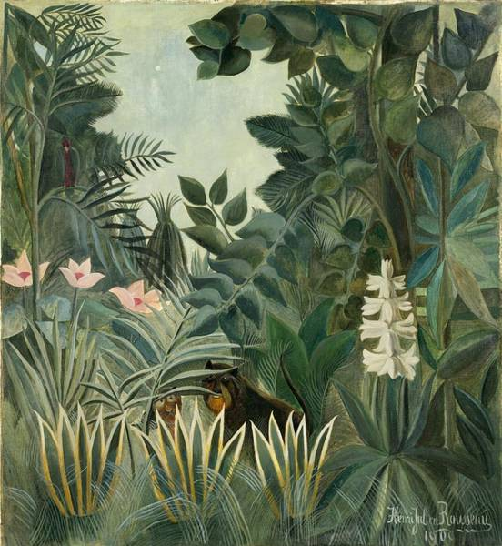 The Equatorial Jungle Art Print