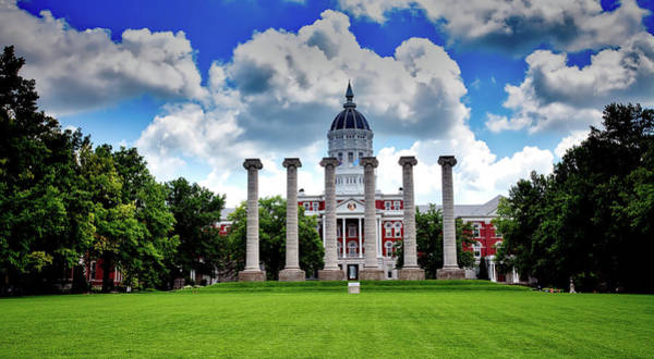 Wall Art - Photograph - The Francis Quadrangle - University Of Missouri by Mountain Dreams