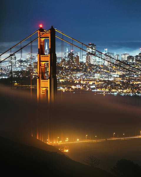 Photograph - The Golden Gate Bridge by Lee Harland