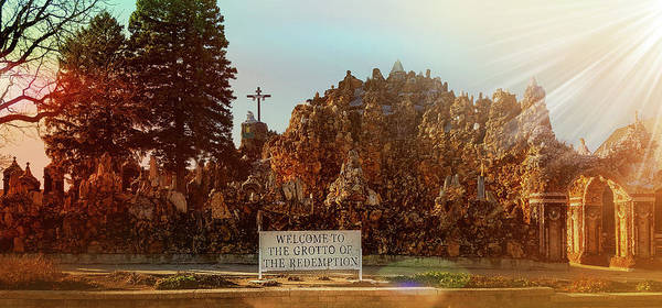 Inri Wall Art - Photograph - The Grotto Of The Redemption by Art Spectrum