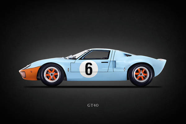 Super Photograph - The Gt40 by Mark Rogan