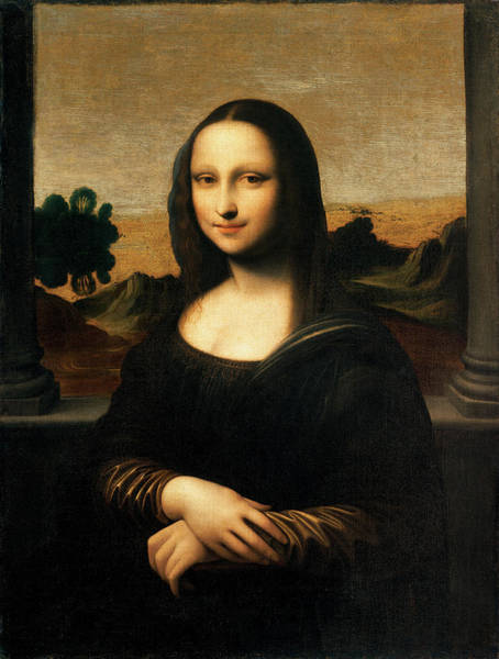 Mona Lisa Wall Art - Painting - The Isleworth Mona Lisa by Leonardo da Vinci