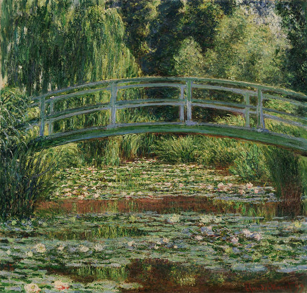 Painting - The Japanese Footbridge And The Water Lily Pool by Claude Monet
