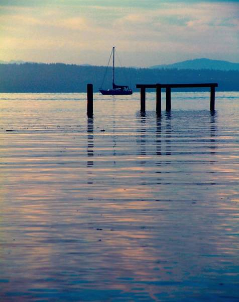 Dock Of The Bay Photograph - The Journey Begins by Dan Sproul