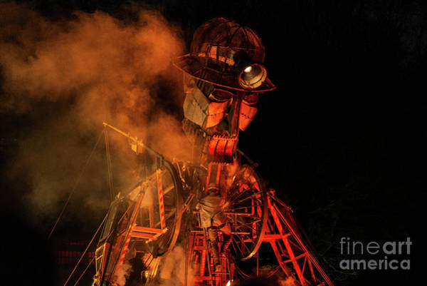 Wall Art - Photograph - The Man Engine by Amanda Elwell