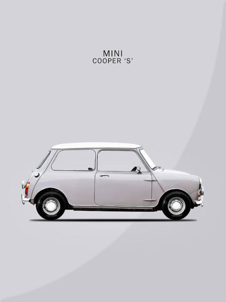 Mini Cooper Wall Art - Photograph - The Mini Cooper by Mark Rogan