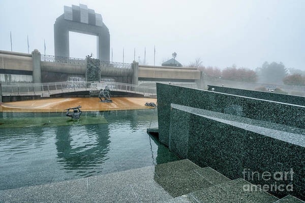 Photograph - The National D-day Memorial by Thomas R Fletcher