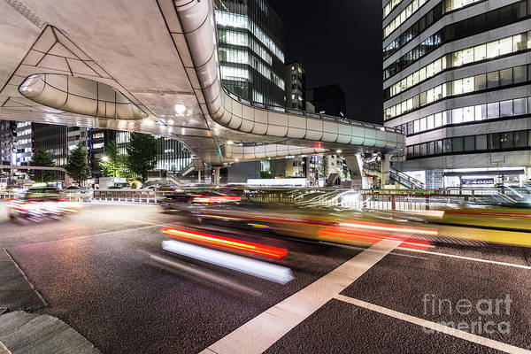 Photograph - The Nights Of Tokyo by Didier Marti