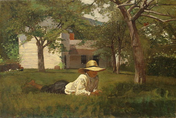 Wall Art - Painting - The Nooning by Winslow Homer