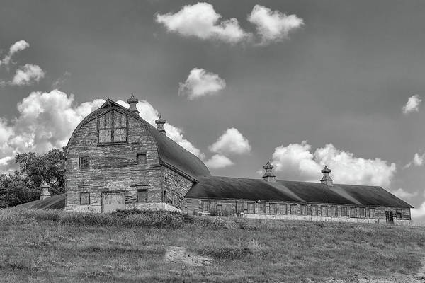 Photograph - The Old Dairy Barn by Victor Culpepper