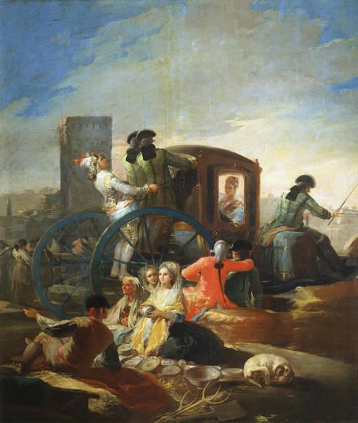 Service Dog Painting - The Pottery Vendor by Francisco Goya