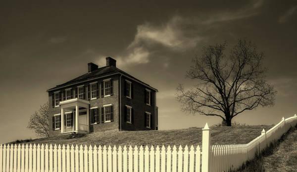 Battleground Photograph - The Pry House - Antietam by Mountain Dreams