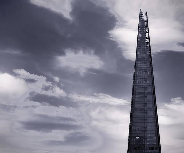 Shard Wall Art - Photograph - The Shard London by Martin Newman