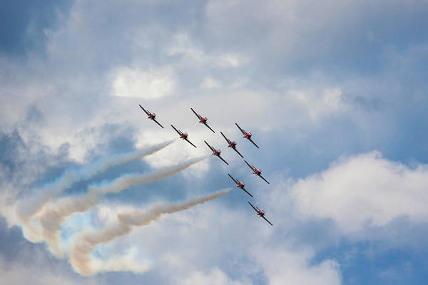 Photograph - The Snowbirds #2 by Tatiana Travelways