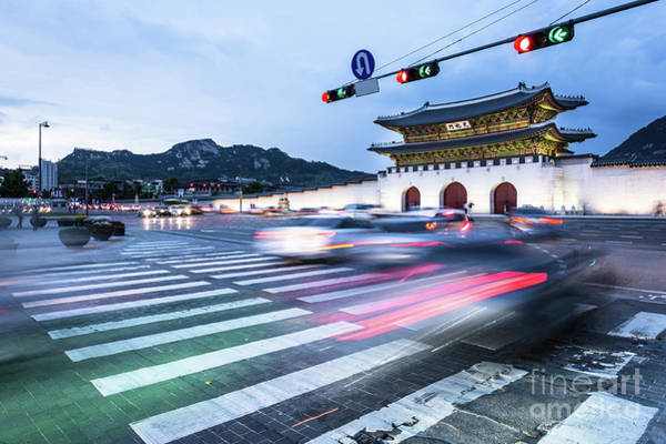 Photograph - The Streets Of Seoul, South Korea by Didier Marti