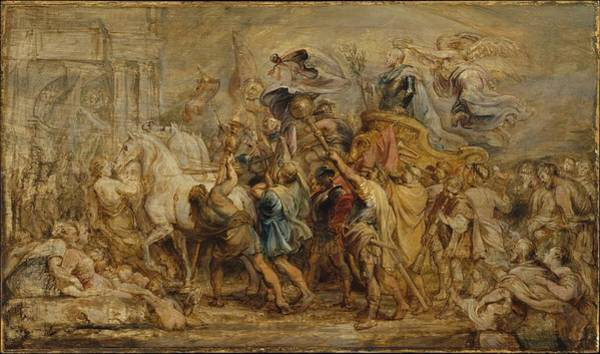 Painting - The Triumph Of Henry Iv by Peter Paul Rubens