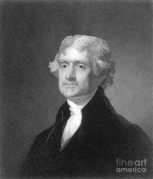 Photograph - Thomas Jefferson (1743-1826) by Granger