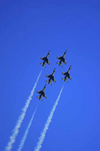 Photograph - Thunderbirds Upwards by Raymond Salani III