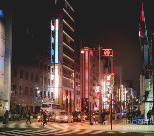 Photograph - Tokyo Streets, Japan by Perry Rodriguez