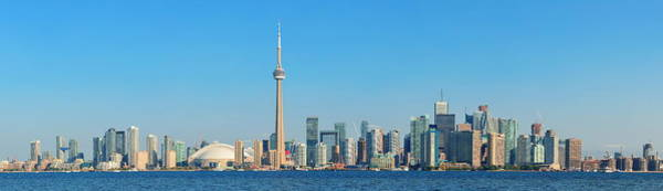 Photograph - Toronto Skyline In The Day by Songquan Deng