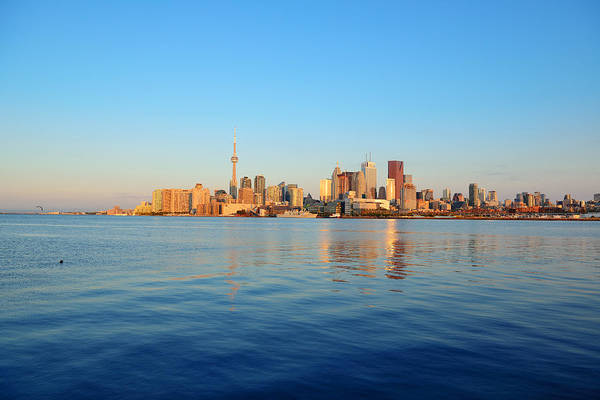 Photograph - Toronto Sunrise by Songquan Deng