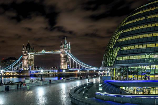 Bankside Photograph - Tower Bridge by David Leigh-Jackson