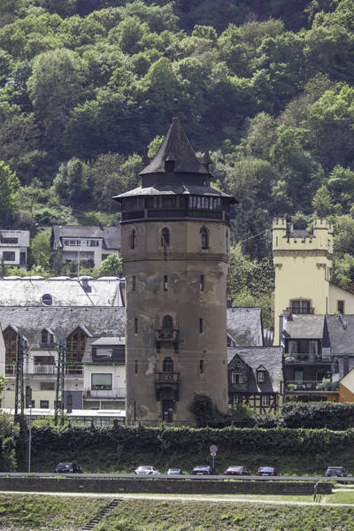 Wall Art - Photograph - Tower In Oberwesel by Teresa Mucha