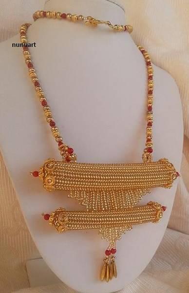 Wall Art - Jewelry - Traditional Yemenite Prayer Box Necklace by Nurit Tzubery