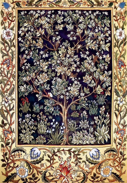 Wall Art - Painting - Tree Of Life by William Morris