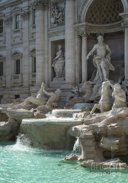 Photograph - Trevi Fountain, Rome Italy by Perry Rodriguez