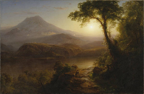 Painting - Tropical Scenery by Frederic Edwin Church