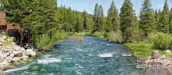 Photograph - Truckee River by Joe Lach