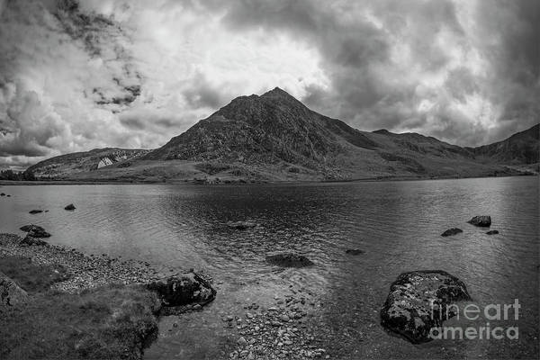 Photograph - Tryfan Mountain by Ian Mitchell