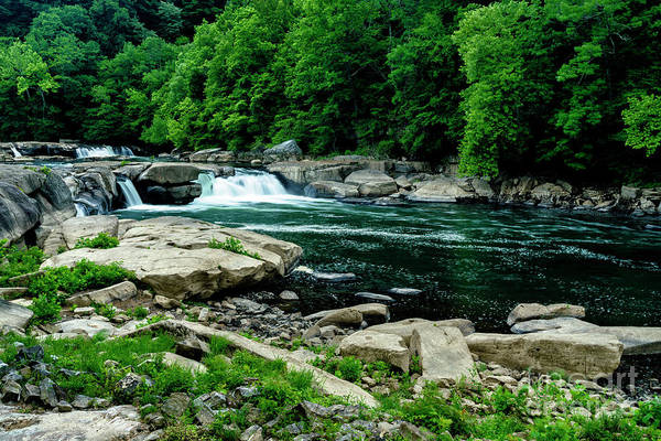 Photograph - Tygart Valley River by Thomas R Fletcher