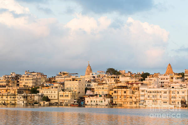 Photograph - Udaipur City Palace In Rajasthan by Didier Marti