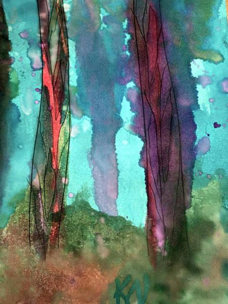 Painting - Underwater Beauty by Karen Nicholson