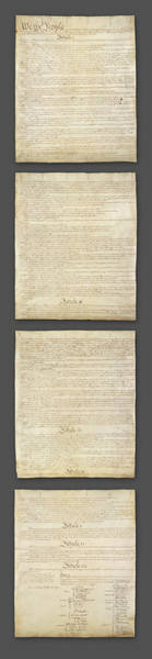 Us Capitol Photograph - United States Constitution, Usa by Panoramic Images