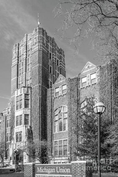 Arbor Photograph - University Of Michigan Union by University Icons