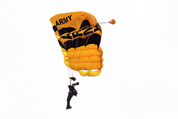 Photograph - Us Army Golden Knights by Jack R Perry