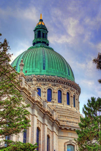 Wall Art - Photograph - Us Naval Academy Chapel by Craig Fildes