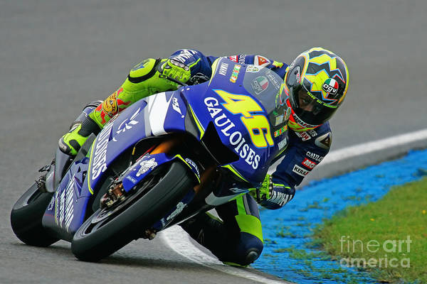 Meijer Wall Art - Photograph - Valentino Rossi by Henk Meijer Photography