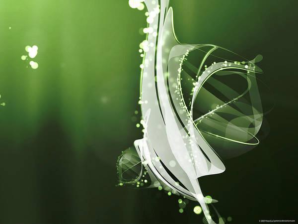 Flower Digital Art - Vector by Super Lovely