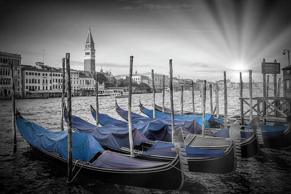 Wall Art - Photograph - Venice Grand Canal And St Mark's Campanile by Melanie Viola