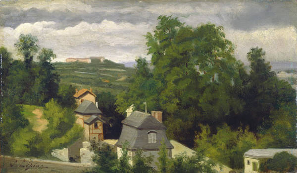 Painting - View On The Outskirts Of Caen by Stanislas Lepine