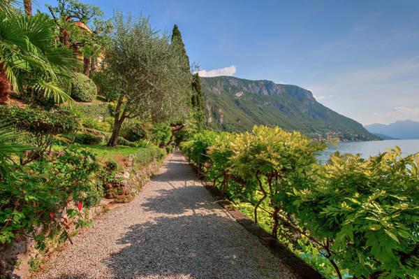 Photograph - Villa Cipressi Gardens by Brenda Jacobs